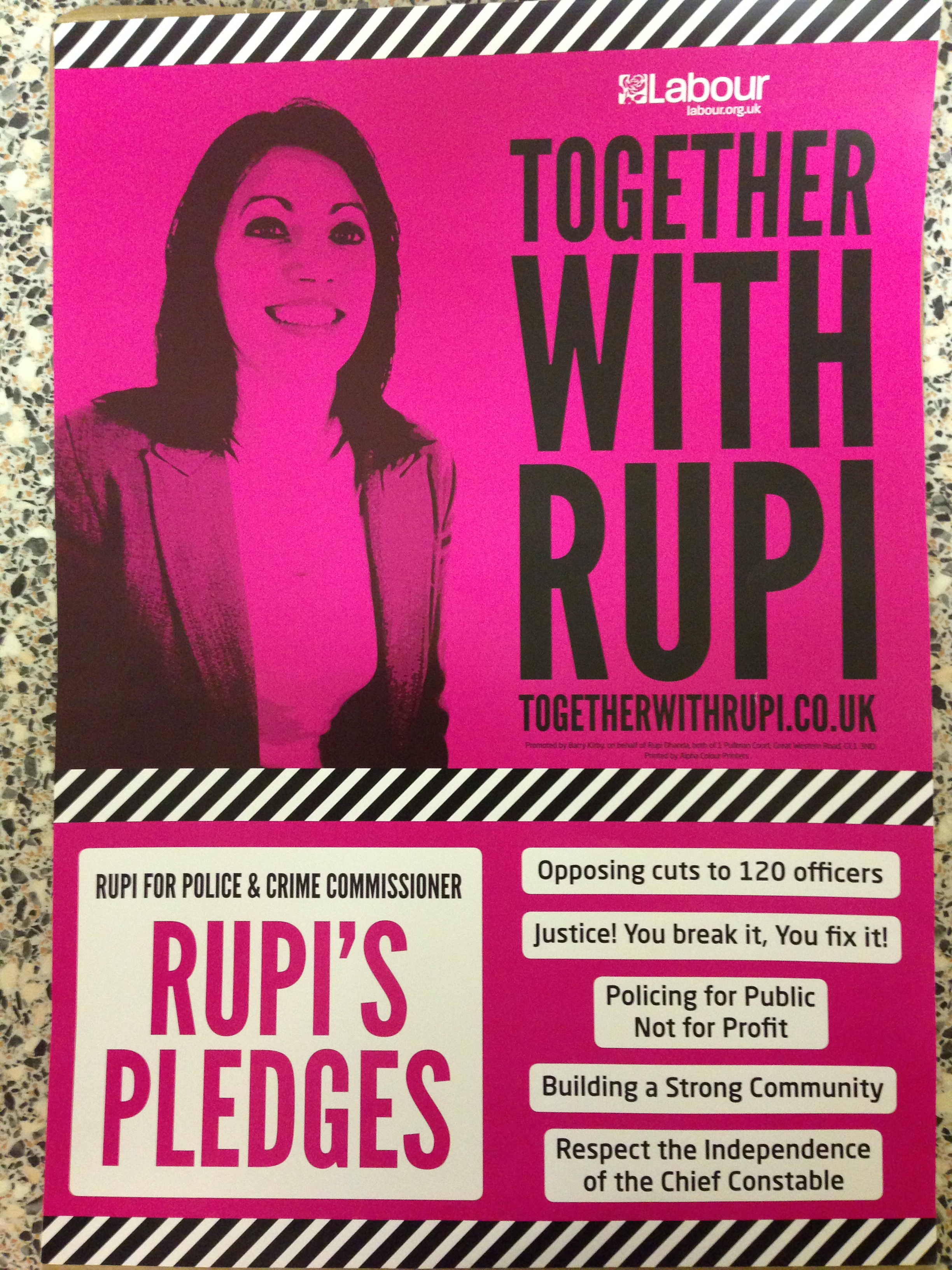The Pledges of Rupi Dhanda